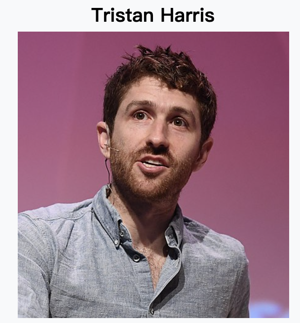 Tristan Harris the social dilemma